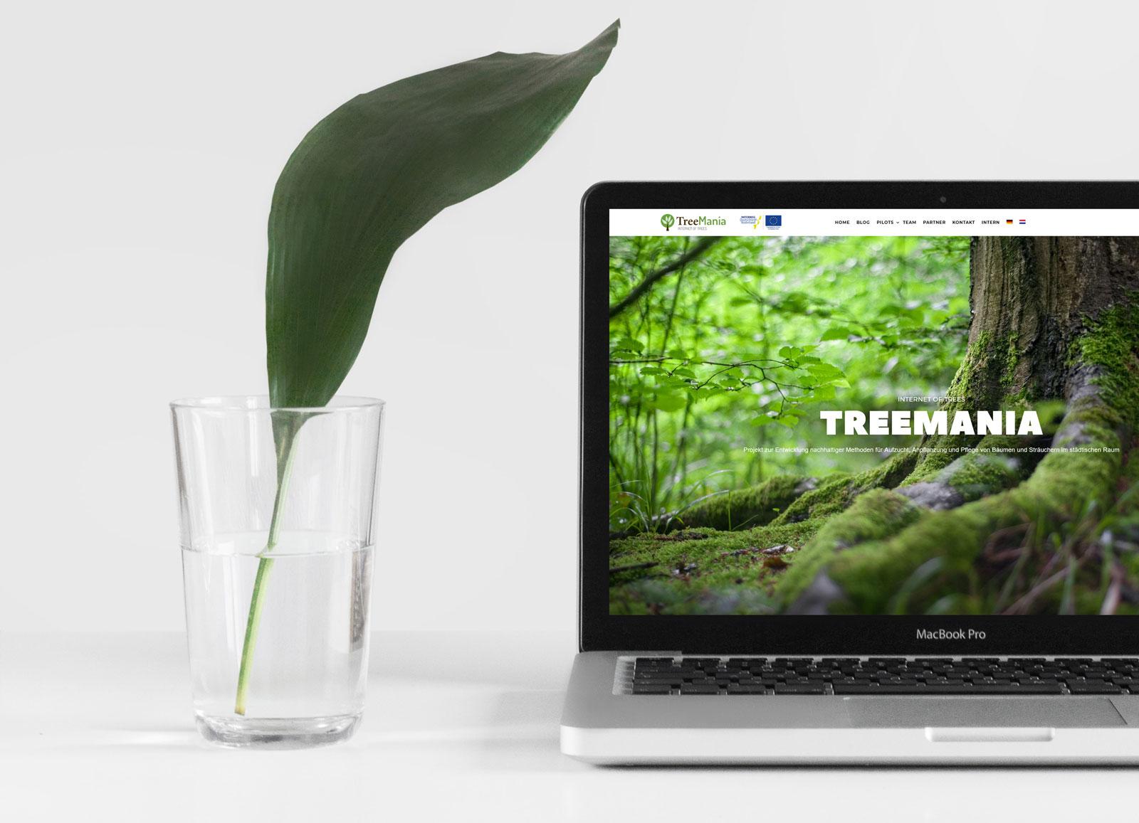 Website voor TreeMania project gelanceerd